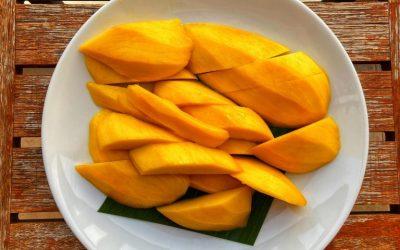 Ceviche de mango y aguacate
